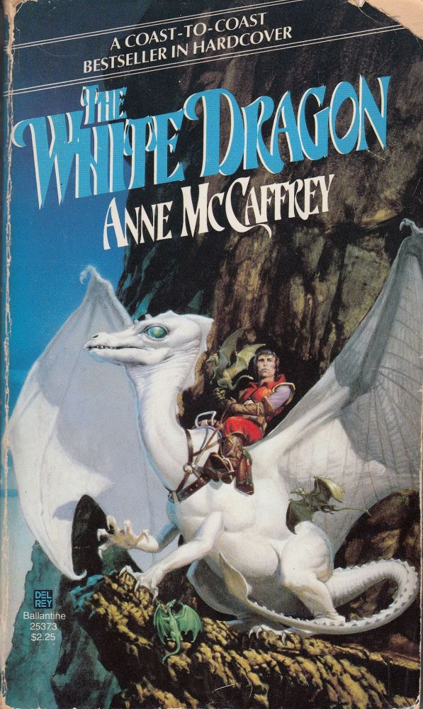 "The White Dragon: Volume III of ""THe Dragonriders of Pern"" Anne McCaffrey."