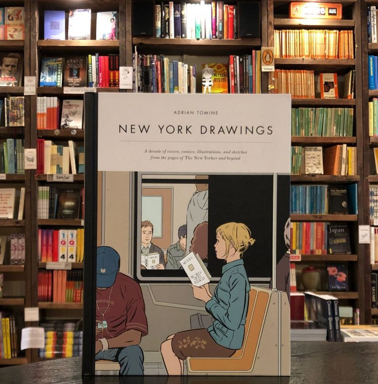 New York Drawings. Adrian Tomine.