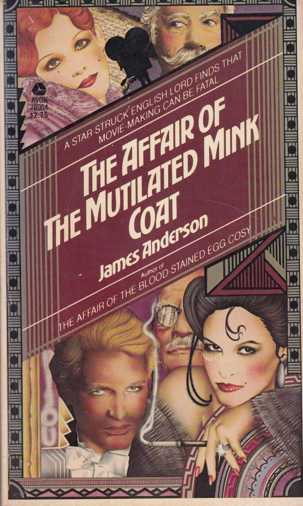 The Affair of the Mutilated Mink Coat. James Anderson.