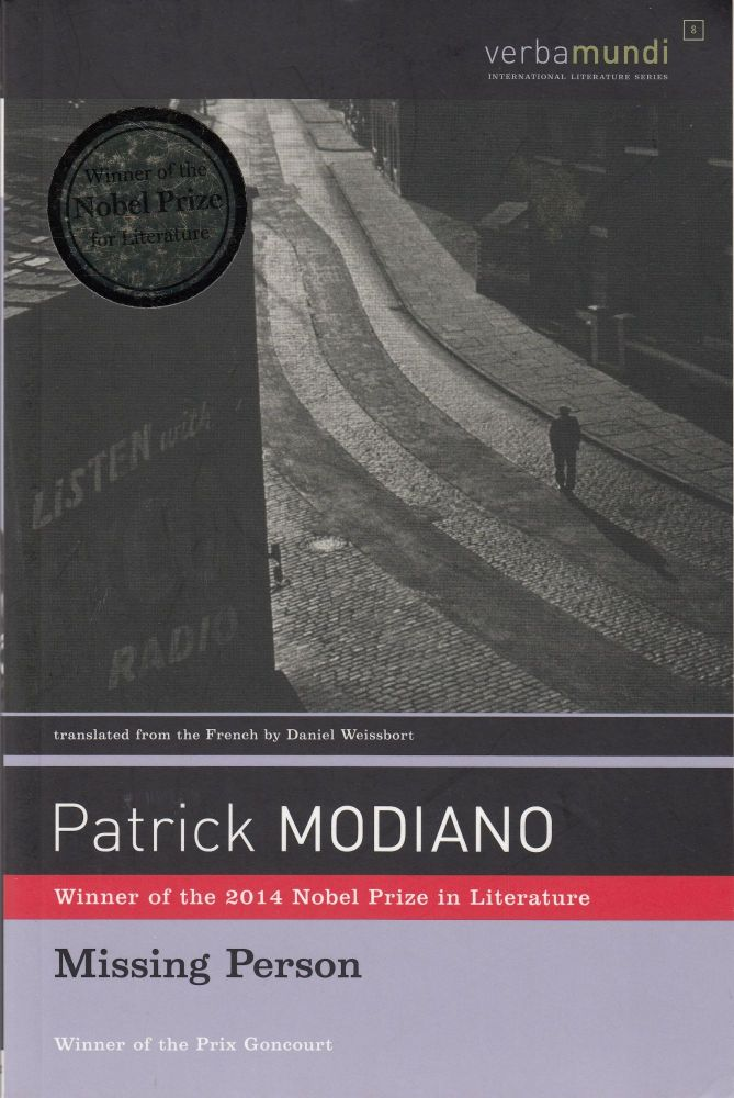Missing Person. Patrick Modiano.