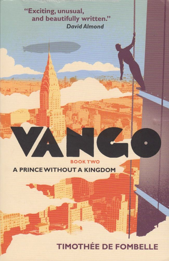 Vango: Book 2, A Prince Without a Kingdom. Timothee De Fombelle.