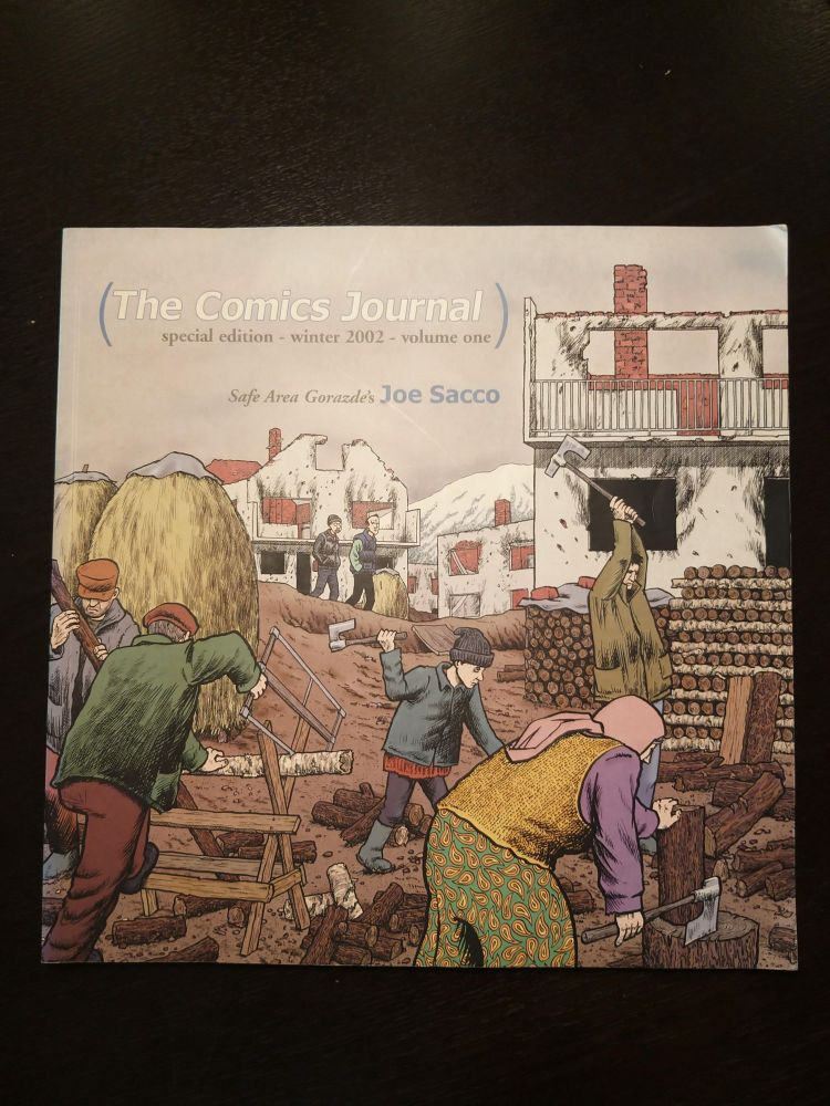 The Comics Journal (Special Edition - Winter 2002 - Volume One: Cartoonist on Cartooning). Gary Groth.