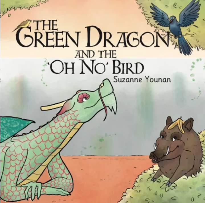 The Green Dragon and The 'Oh No' Bird. Suzanne Younan.