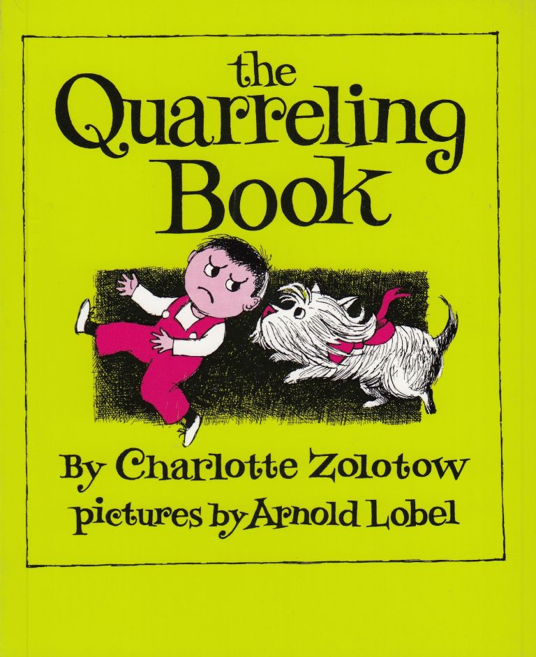 The Quarreling Book. Charlotte Zolotov.