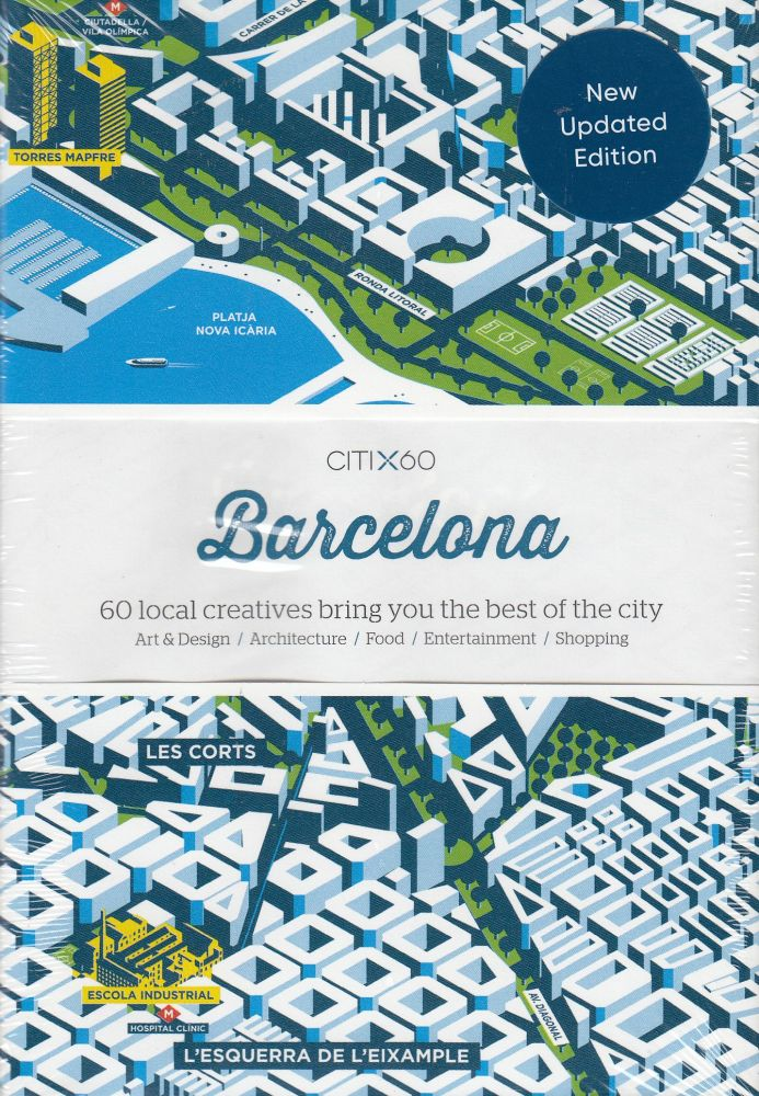 CITIx60: Barcelona (60 Local Creatives Show You the Best of the City). Victionary.