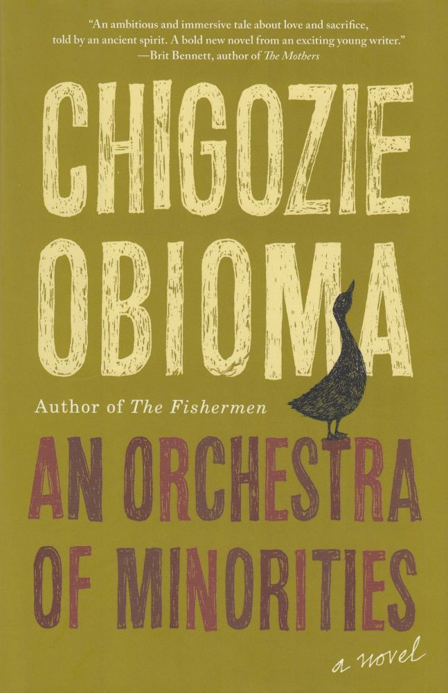 An Orchestra of Minorities. Chigozie Obioma.