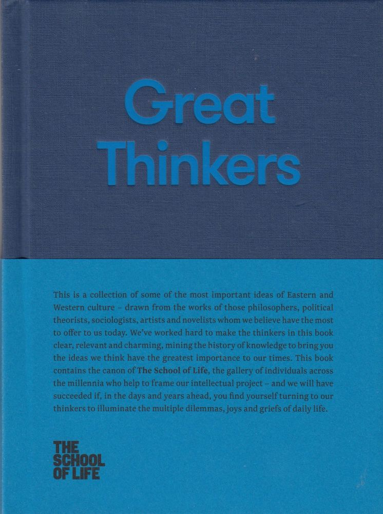 Great Thinkers. The School of Life.
