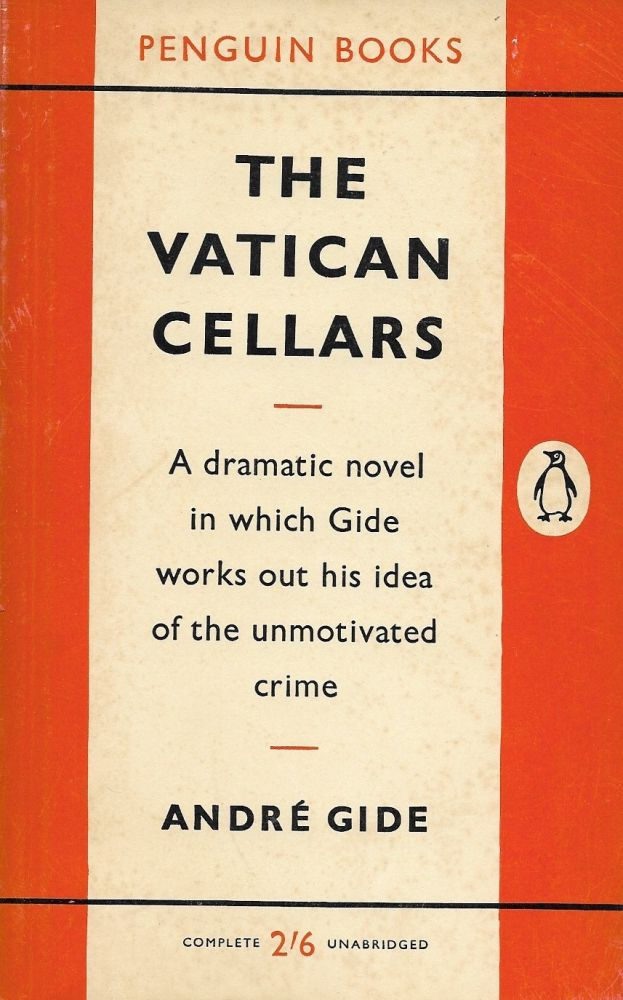 The Vatican Cellars. Andre Gide.
