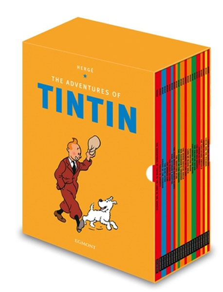 The Adventures of Tintin (Boxed Set). Herge.