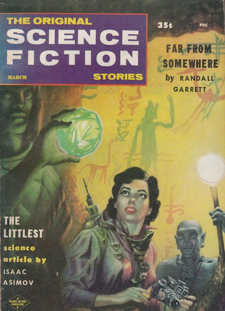 The Original Science Fiction Stories, Vol 8 Number 5, March 1958