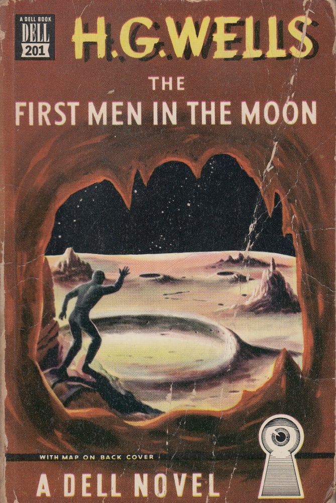 The First Men in the Moon. H G. Wells.