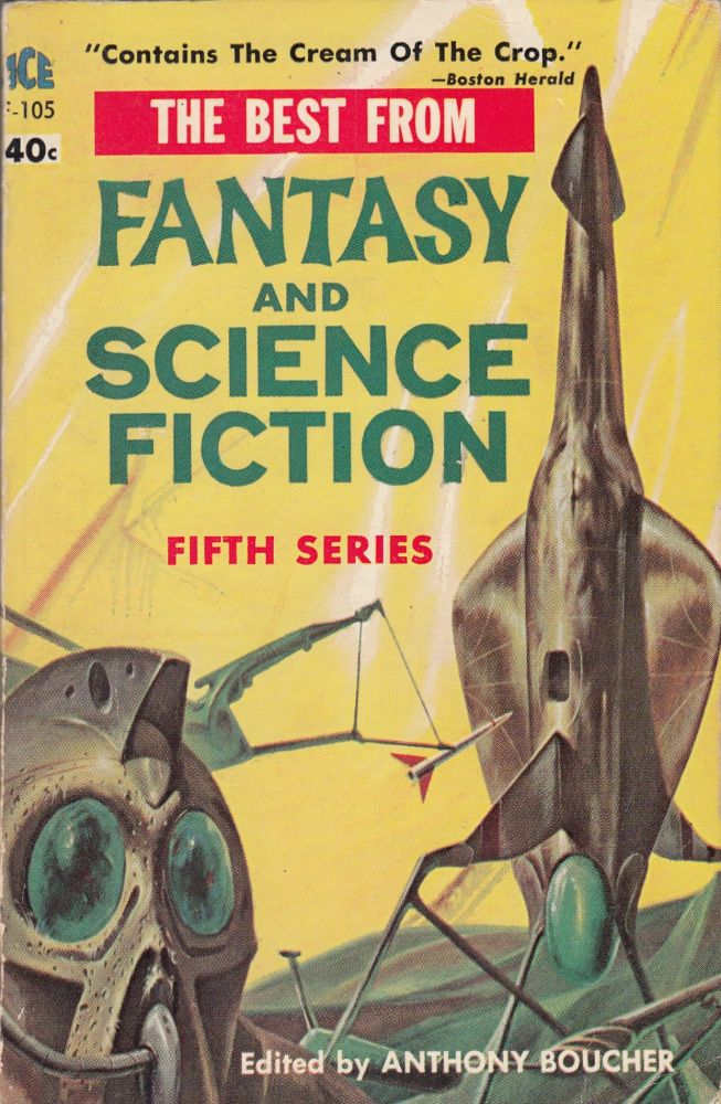The Best From Fantasy and Science Fiction (Fifth Series). Anthony Boucher.