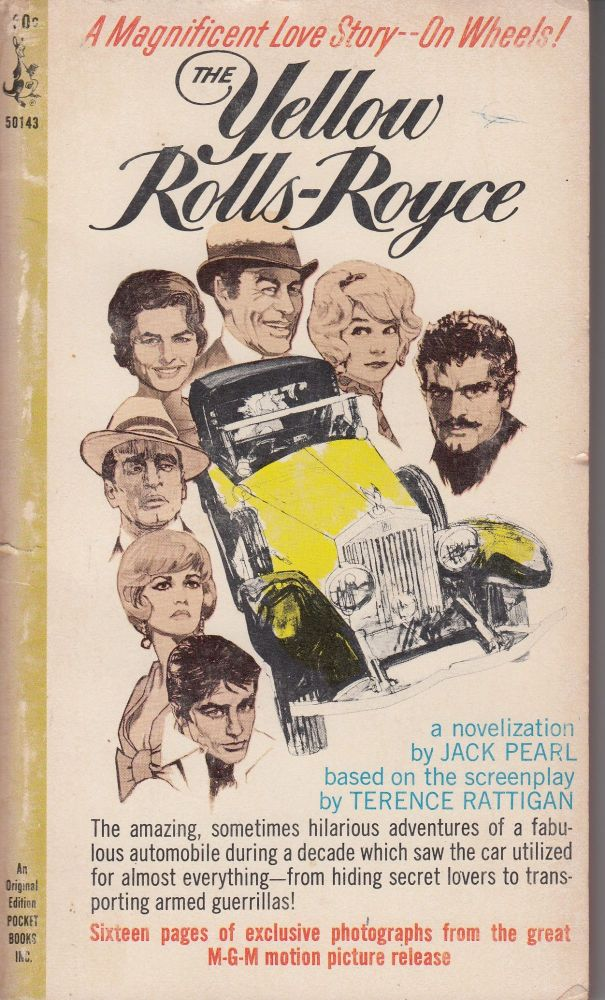 The Yellow Rolls-Royce. Jack Pearl.