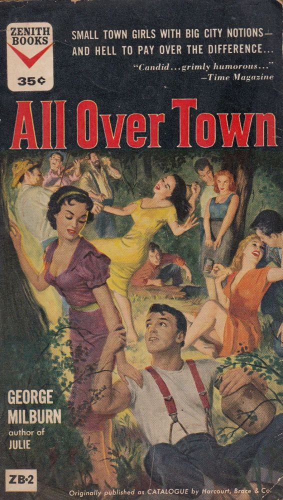 All Over Town (Catalogue). George Milburn.