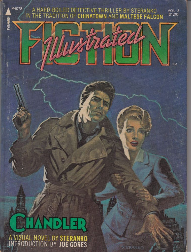 Illustrated Fiction Vol. 3: Red Tide (A Chandler Novel). James Steranko.