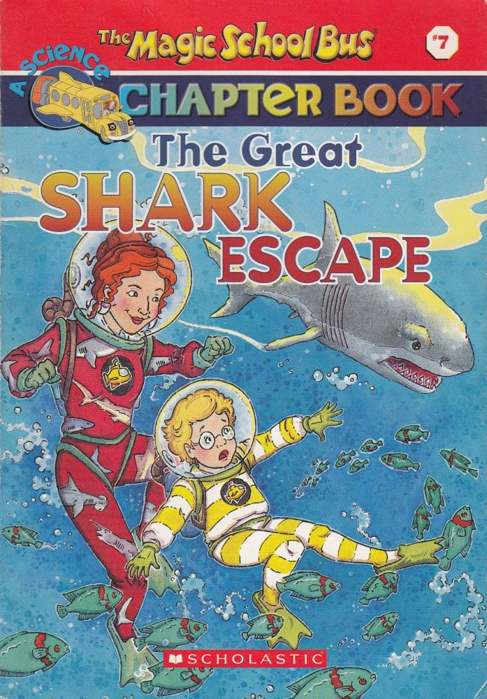 The Magic School Bus Chapter Book: The Great Shark Escape