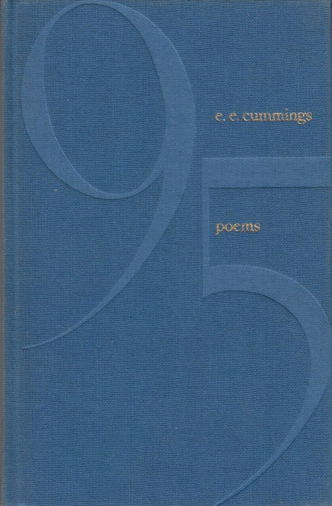 95 poems. e e. cummings.