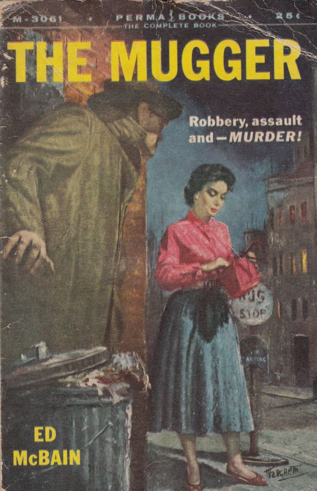 The Mugger. Ed McBain.