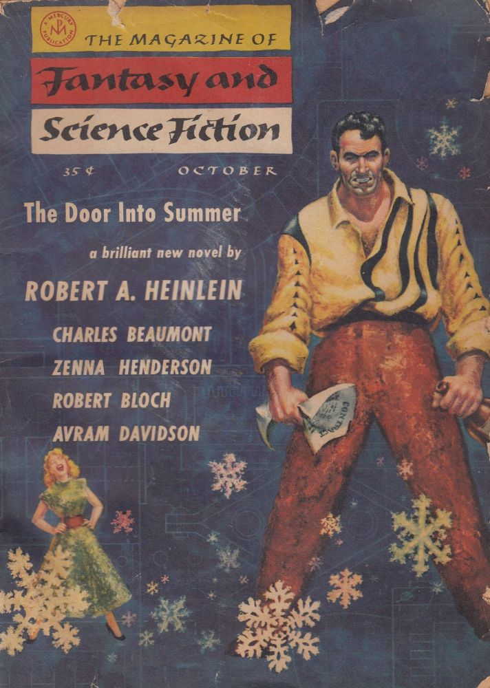 The Magazine of Fantasy and Science Fiction, October 1956. Anthony Boucher.