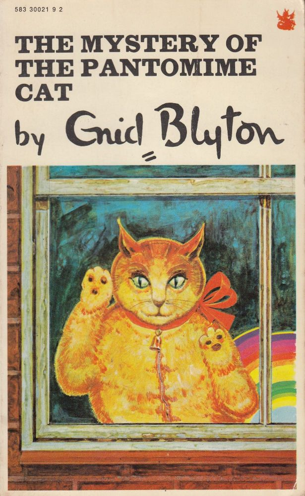 The Mystery of the Pantomime Cat. Enid Blyton.