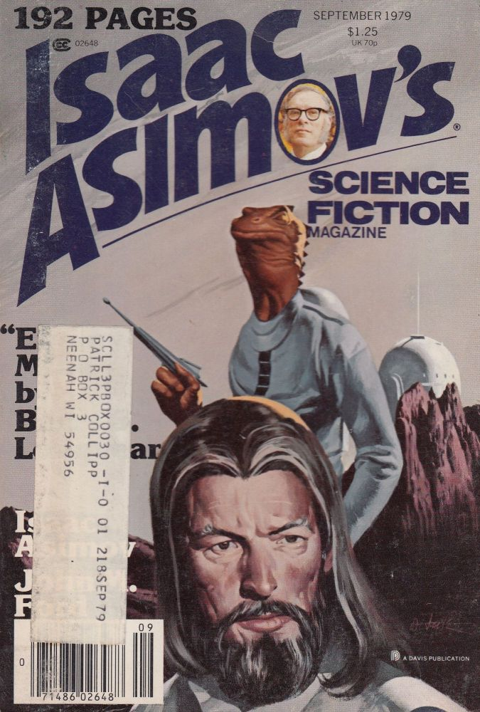 Isaac Asimov's Science Fiction Magazine, September 1979 (Vol. 3 No. 19)