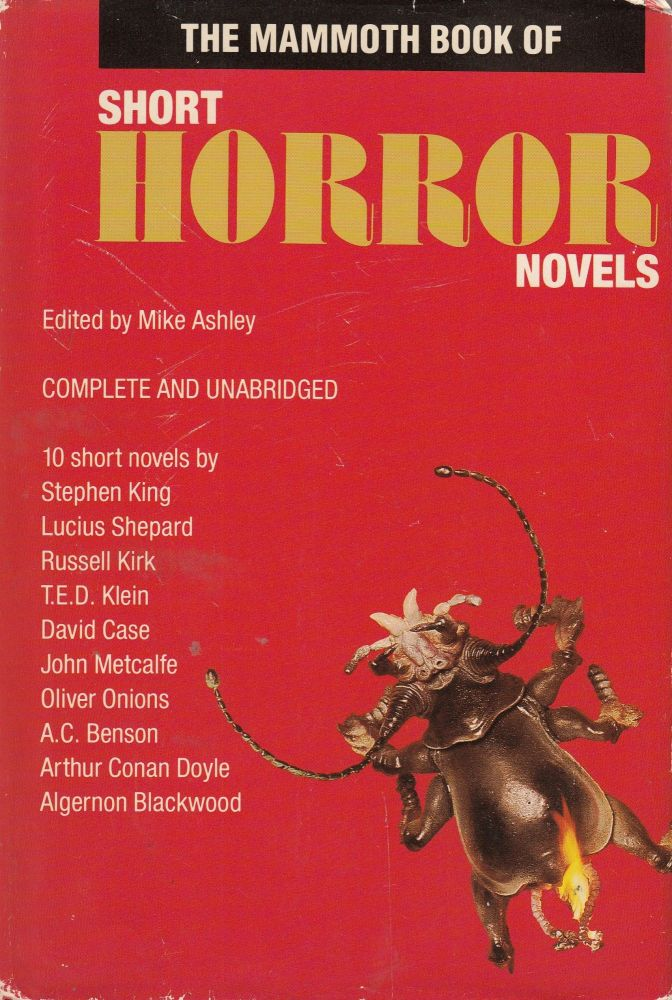 The Mammoth Book of Short Horror Novels. Mike Ashley.