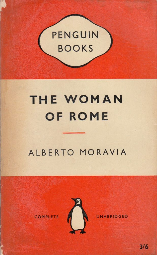 The Woman of Rome. Alberto Moravia.
