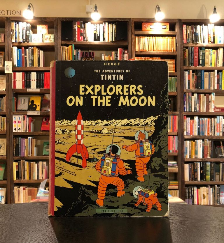 The Adventures of Tintin: Explorers on the Moon. Herge.