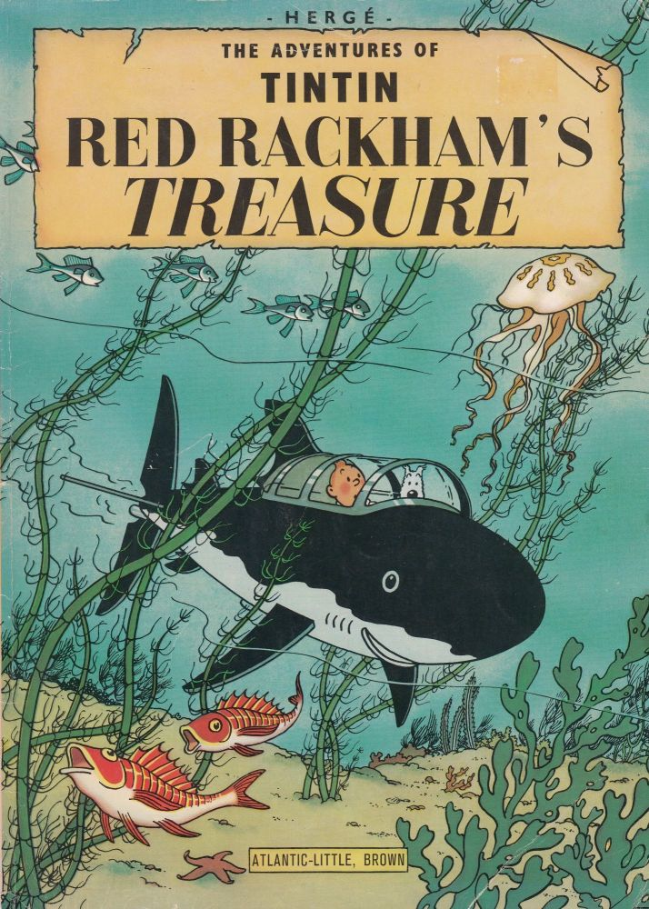 The Adventures of Tintin: Red Rackham's Treasure. Herge.