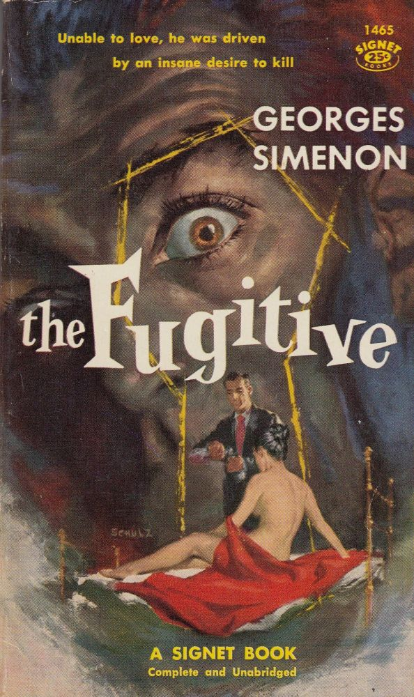 The Fugitive. Georges Simenon.