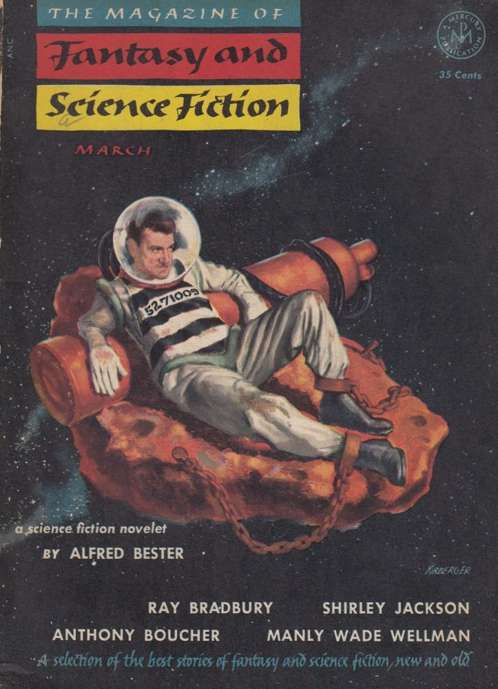 The Magazine of Fantasy and Science Vol.6, No.3 - March 1954