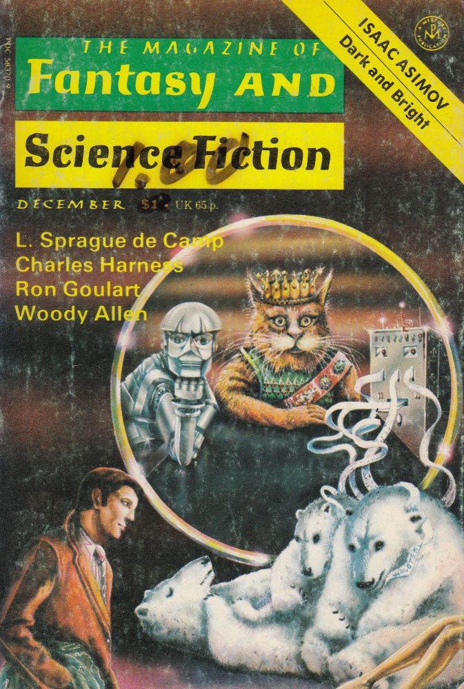 The Magazine of Fantasy and Science Fiction Vol. 53, No. 6 - December 1977. Isaac Asimov Edward L. Ferman.
