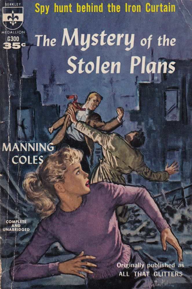 The Mystery of the Stolen Plans. Manning Coles.