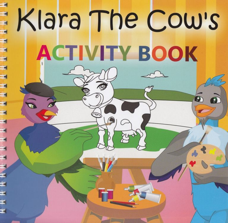 Klara The Cow's Activity Book. Kimberley Kleczka.