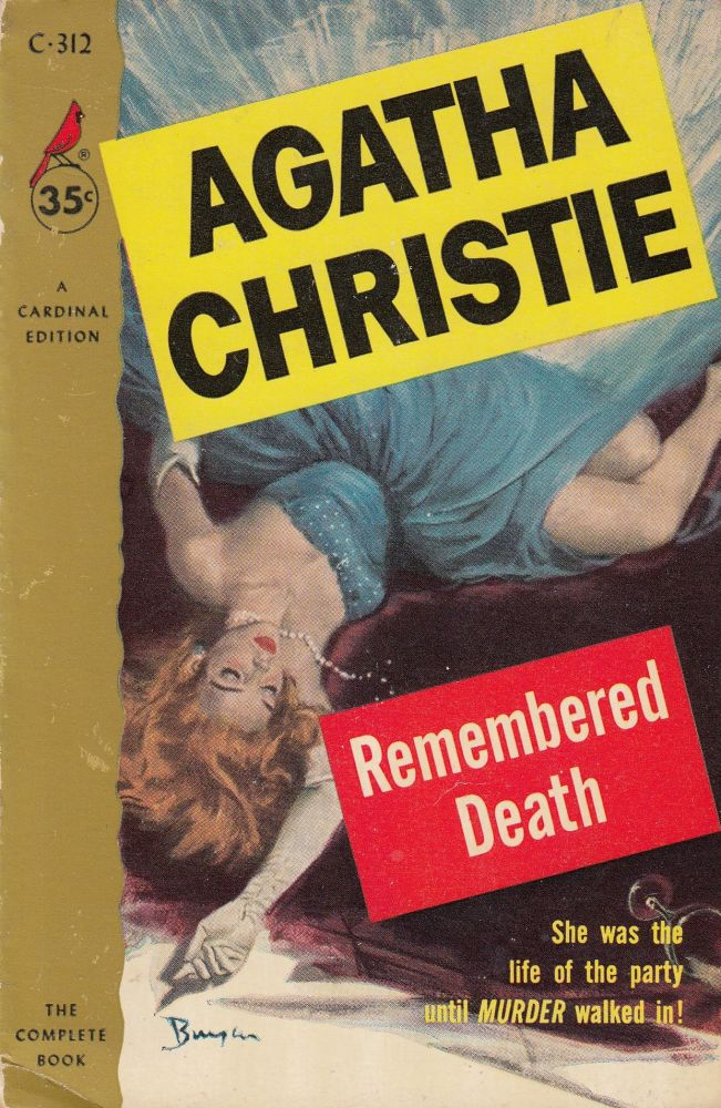 Remembered Death. Agatha Christie.
