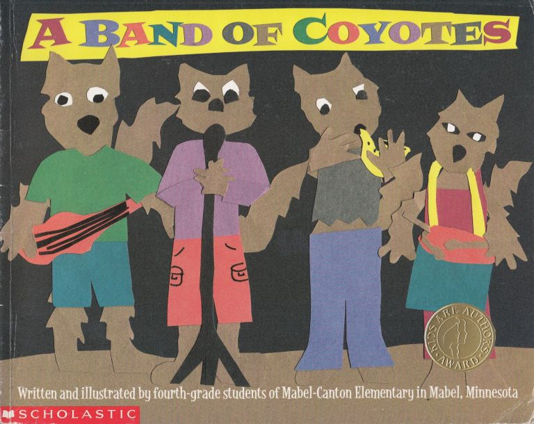 A Band of Coyotes. Students of Mabel-Canton Elementary.