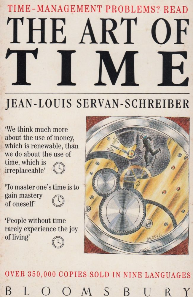 The Art of Time. Franklin Philip Jean-Louis Servan-Schreiber, tr.