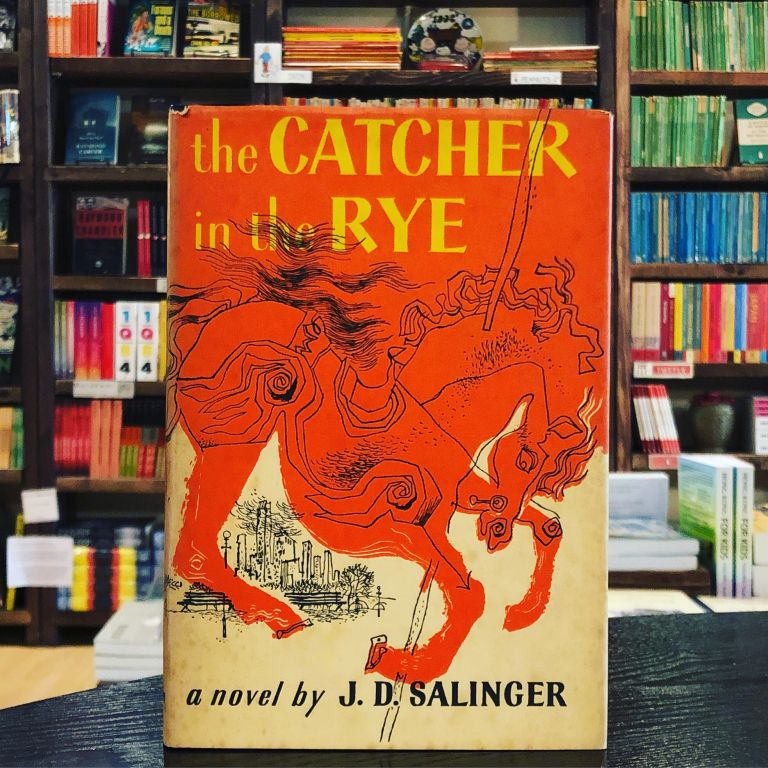 Catcher in the Rye. J D. Salinger.
