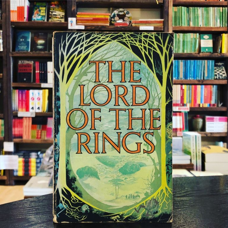 The Lord of the Rings. J R. R. Tolkein.