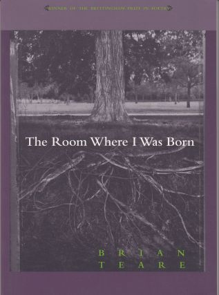 The Room Where I Was Born. Brian Teare