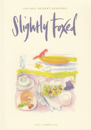 Slightly Foxed Quarterly, Summer 2019. Hazel Wood Gail Perkis