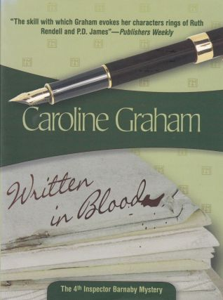 Written in Blood. Caroline Graham