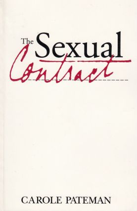 The Sexual Contract. Carole Pateman