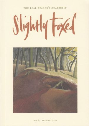 Slightly Foxed Quarterly, Autumn 2020. Hazel Wood Gail Pirkis