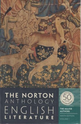 The Norton Anthology of English Literature: The Major Authors, Volume 1 (Ninth Edition). Stephen...