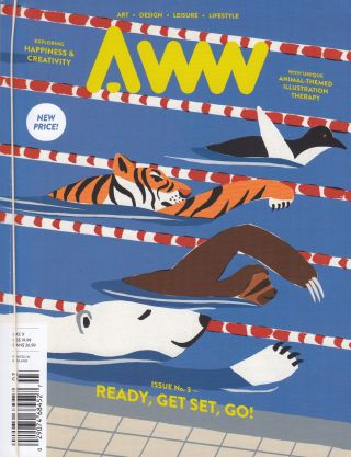 AWW Issue No.3: Ready, Get Set, Go! Amber Fu