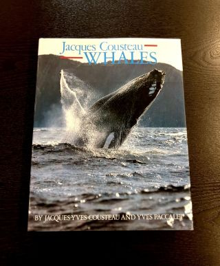 Jacques Cousteau: Whales. Yves Paccalet Jacques-Yves Cousteau