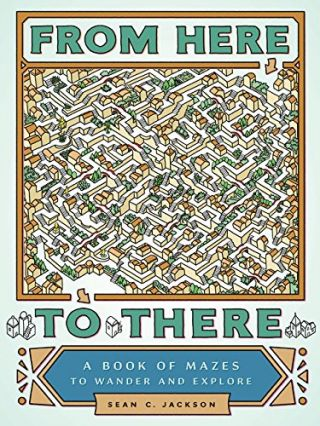From Here to There: A Book of Mazes to Wander and Explore. Sean C. Jackson