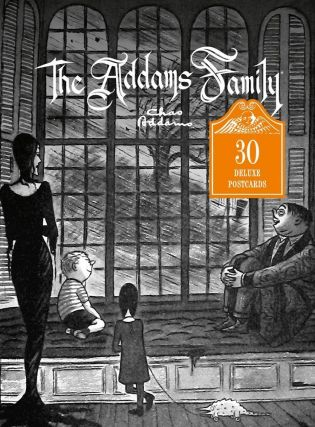 The Addams Family: 30 Deluxe Postcards. Chas Addams