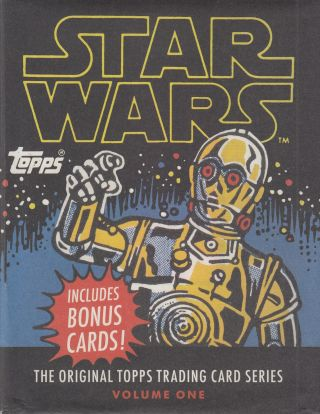 Star Wars: The Original Topps Trading Card Series, Volume One. Nicole Sclama